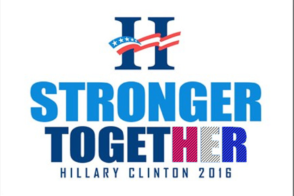 Hillary Clinton 2016 STRONGER TOGETHER | Dennis Adair | Flickr