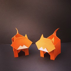 Cat Box Designed By Gay Merrill Gross And Demonstrated Leyla Torres On Origamispirit YouTube Channel