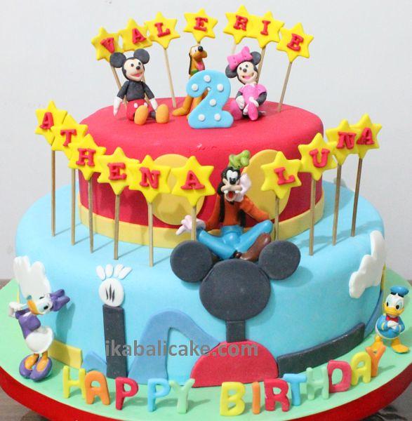 IKA Bali Birthday Cake Disney Minnie Mickey Goofy Pluto Do Flickr