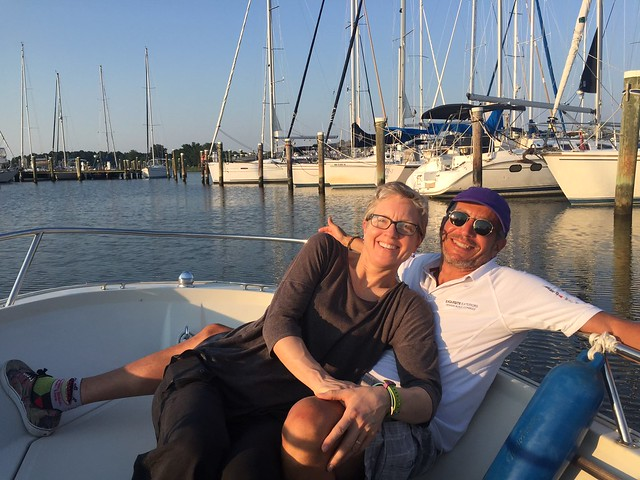 Sailing Chesapeake Bay July 2016