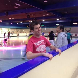 The dude skates.