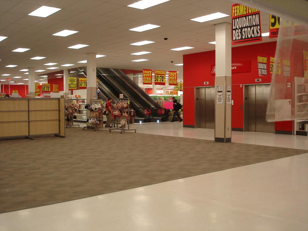Target Canada store closing - Sherbrooke, QC | Sherbrooke ...
