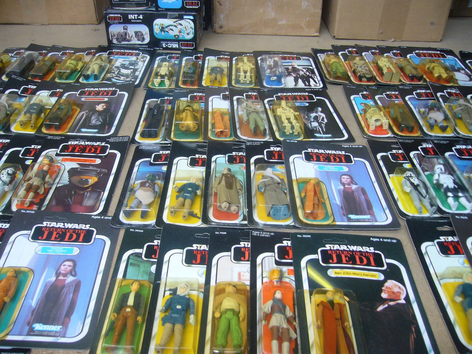 The Frank Beech retro toy shop - Star Wars Return of the Jedi action figures