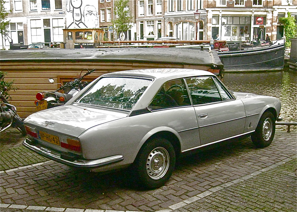 1978 Peugeot 504 Coupe Automatique Elegant French Coupe S Flickr