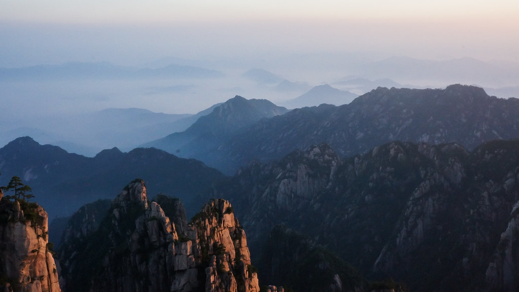 Huangshan - Beginning to Believe Peak 2