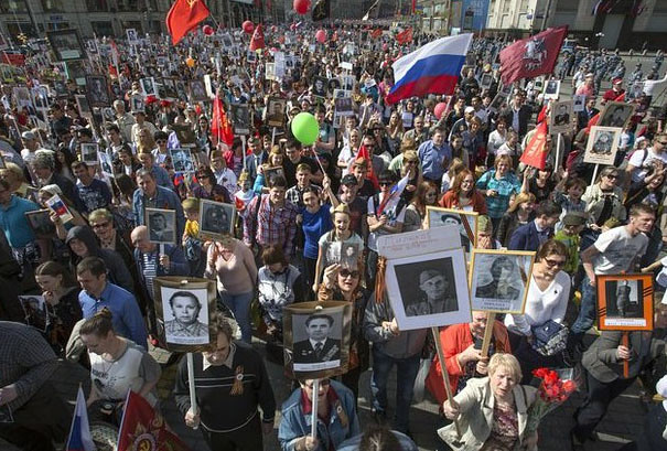 Rusia exhibe poderío militar en 70 aniversario del Día de la Victoria