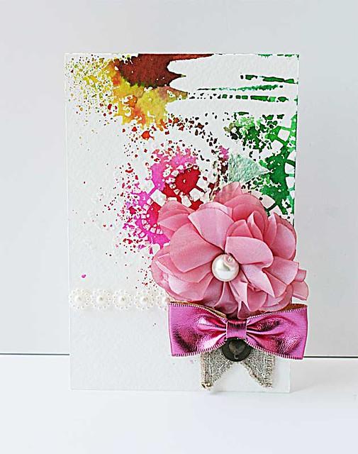 Pink-bow-mixed-medid-card-for-Maya-Road