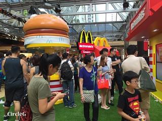 CIRCLEG 麥當勞 香港 太古 遊記 太古城中心 麥當勞玩具樂園 MACDONALD 滑嘟嘟 麥當勞叔叔 (2)