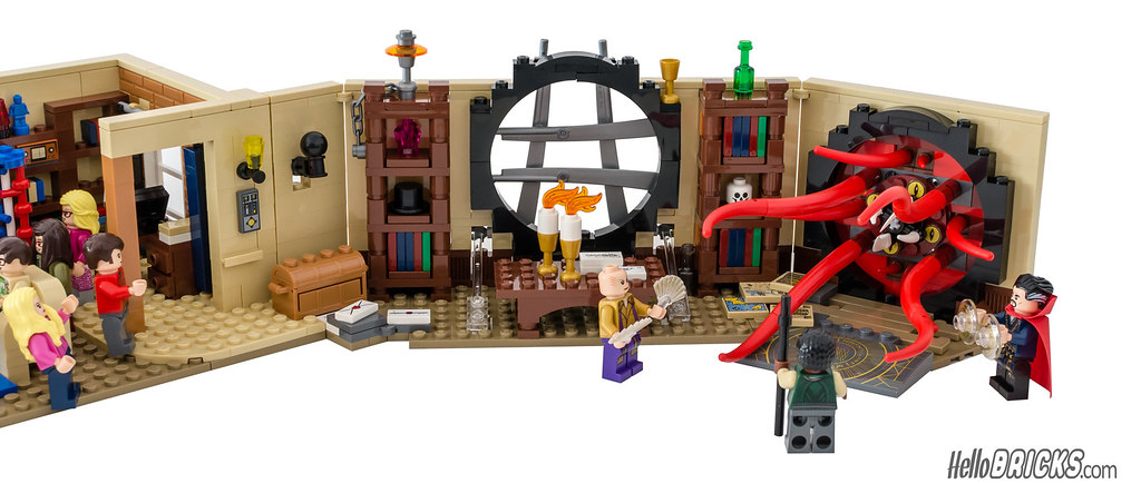 Lego Doctor Strange Amp The Big Bang Theory Appartments Comp Flickr
