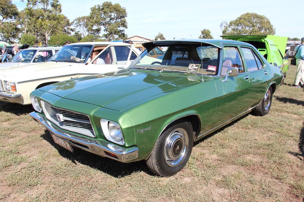 1972 Holden Hq Kingswood Sedan Dublin Green The Hq