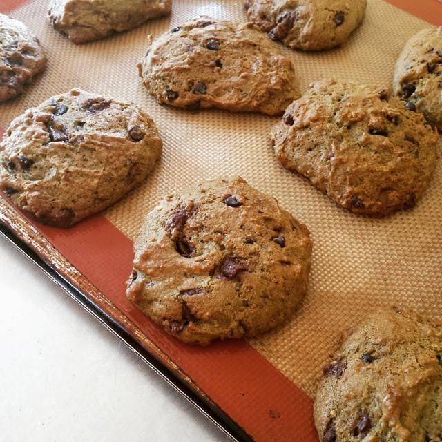 Blood Orange Chocolate Chunk Cookies