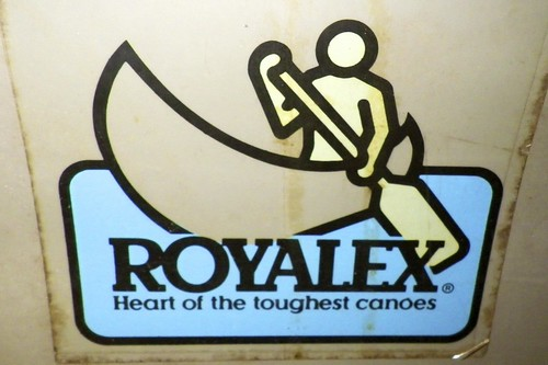 Old Royalex sticker - ain't it the truth