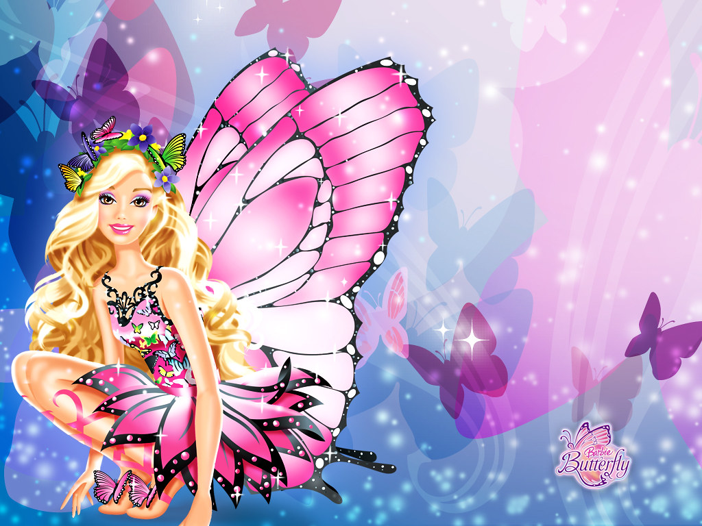Cute Barbie Fairytopia Phone Wallpaper Cute Barbie Fairyto Flickr