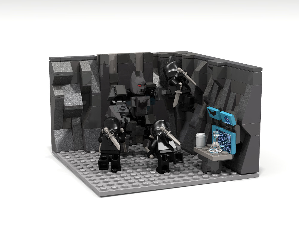 Court Of Owls Attack On The Batcave Lego Ideas This Is A Flickr