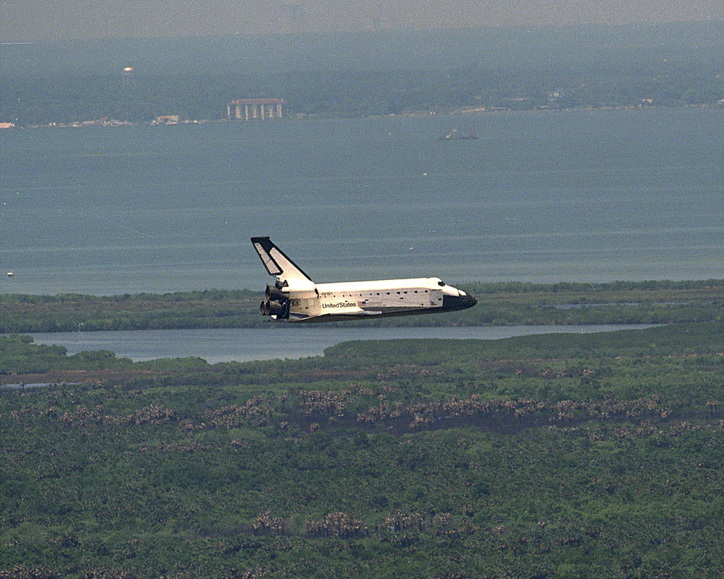 Image result for sts-90 landing