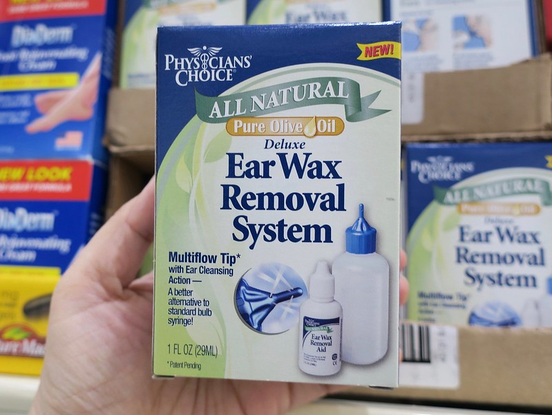 earwax kit, Php 400