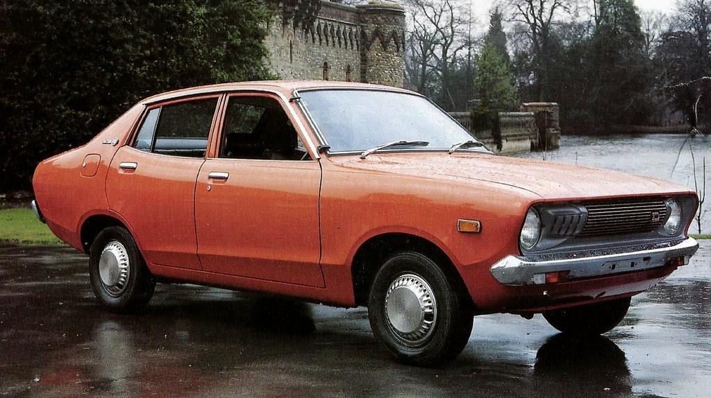 1975 - NEW DATSUN 120Y SALOON | JOHN | Flickr