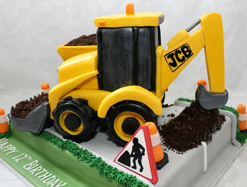 Jcb Birthday Cake
