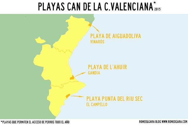 Playa para perros C. Valenciana 2015