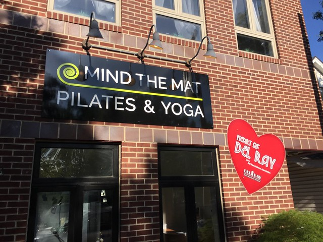 Mind the Mat is the Heart of Del Ray in Alexandria, Virginia