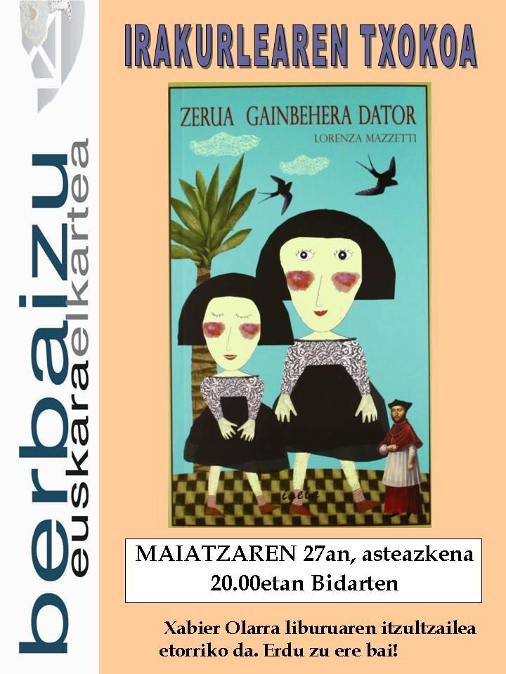 Zerua Gainbehera dator- Definitiboa