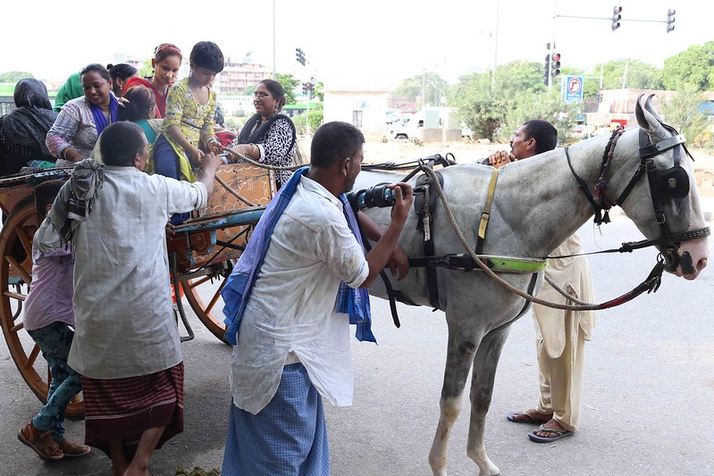 City Moment - Toga Riders, Outside Zakir Husain Delhi College