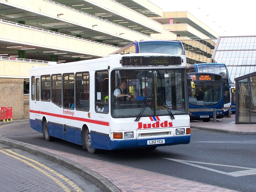 judds (l212 ycu) route 701, peterborough queensgate bus st… | flickr
