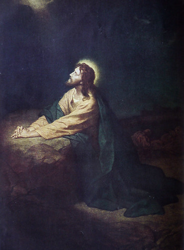 Christ in the Garden of Gethsemane by Heinrich Hofmann