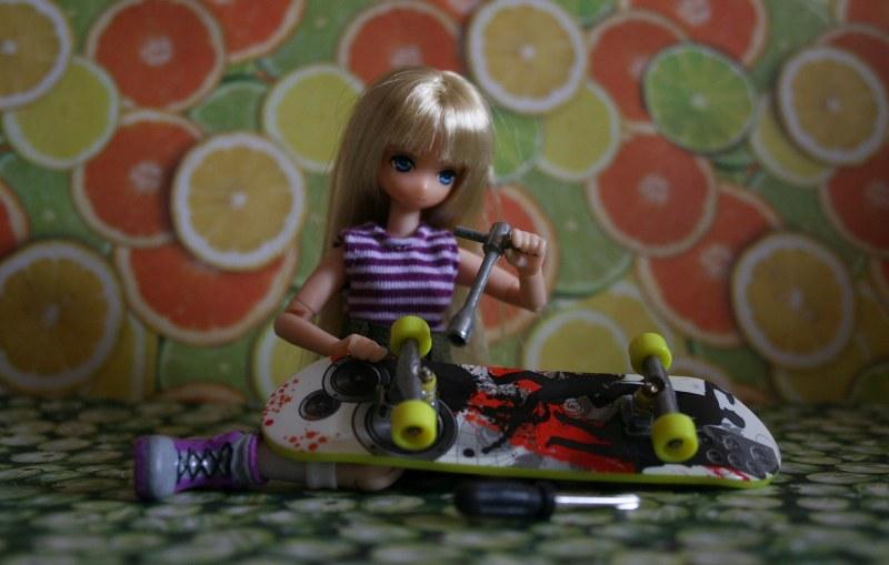 Nedzumi skateboarding