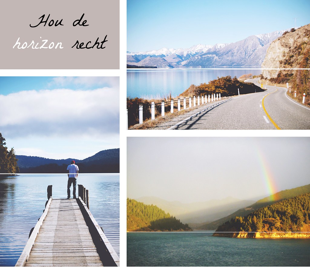 Fotografie tip: hou de horizon recht | via It's Travel O'Clock