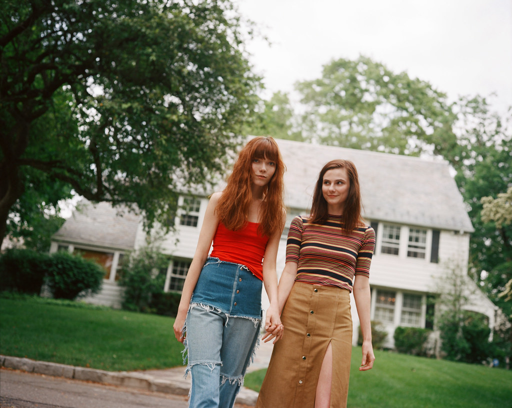 Briley and Leslie | For Teen Vogue, 2015 | Olivia Bee | Flickr
