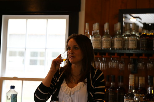 Distiller Allisa Henley Leading Our Tasting