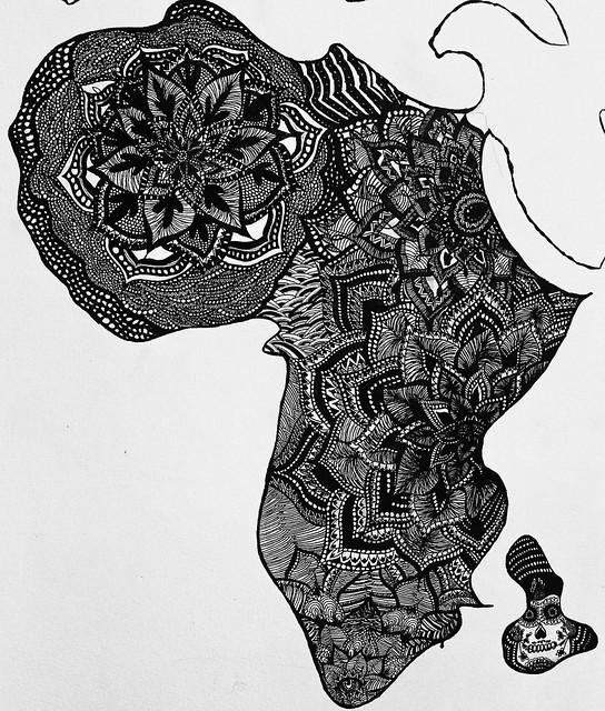 """Chiara Carlotta's Mural """"Africa"""""""