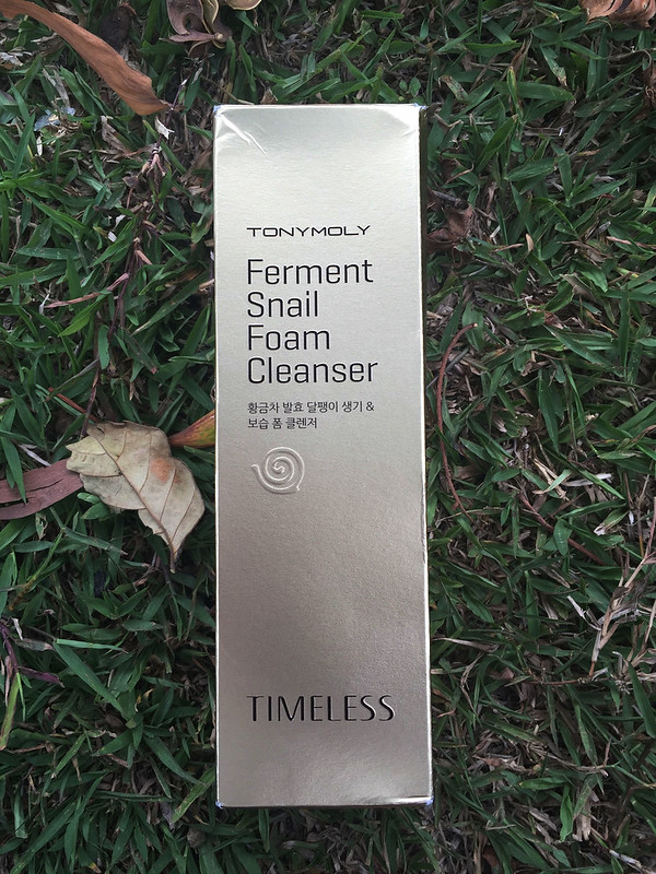 Patty Villegas-Tony Moly Ferment Snail Foam Cleanser-6