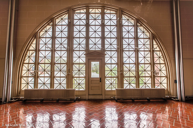 The Unique Windows at Ellis Island