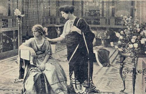 Elena Sangro in Fabiola (1918)