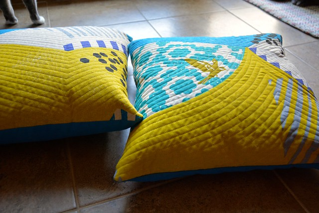 FO: Echino pillows