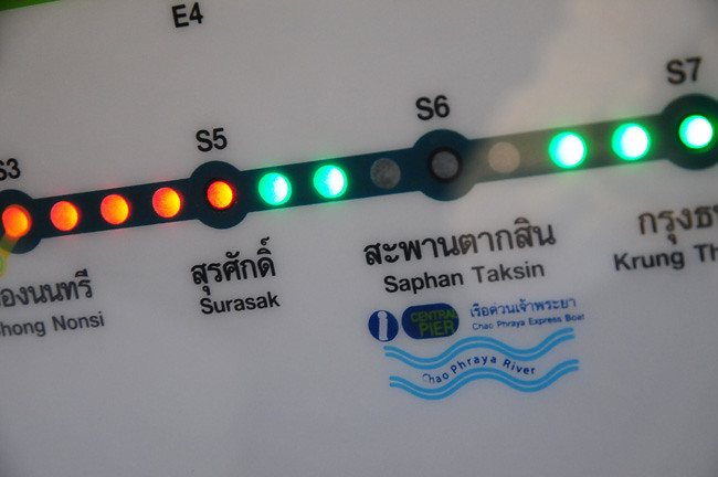 曼谷空鐵BTS