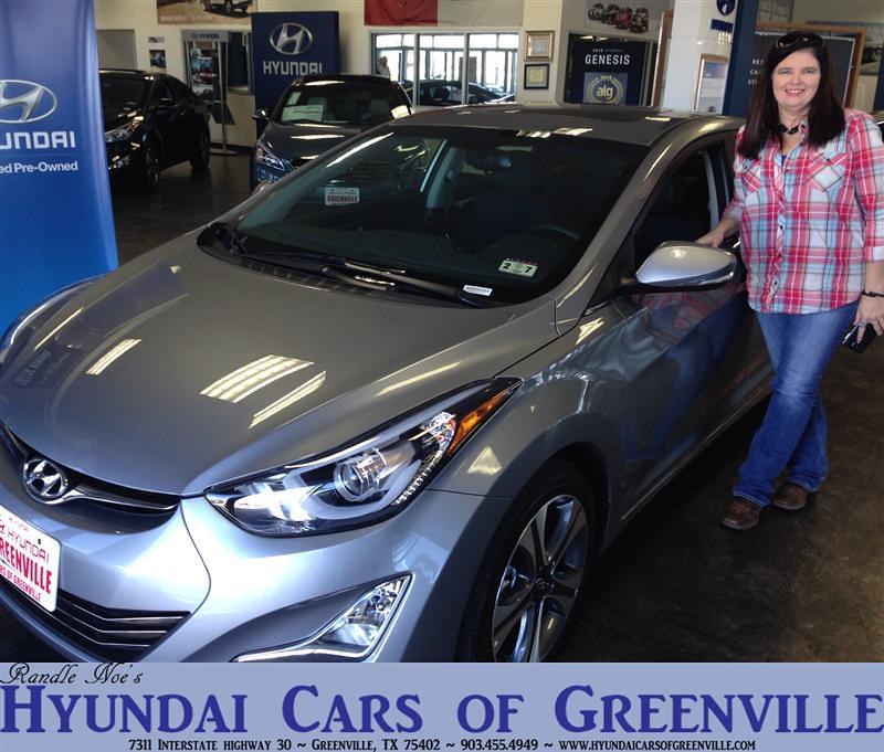 Hyundai Greenville Sc: Congratulations To Emma Carpenter On Your #Hyundai #Elantr
