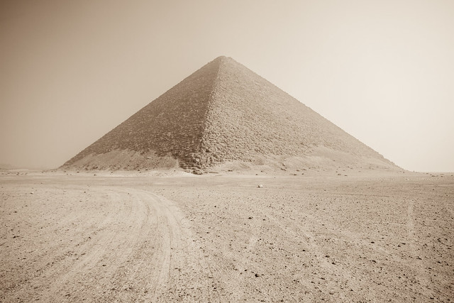 Red Pyramid, Dashur, Egypt