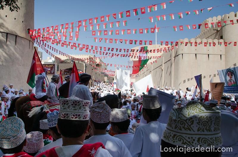 día de festival en Nizwa