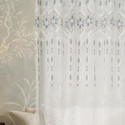 心淚(獨家) 優美蕾絲繡花 無接縫窗紗布 DB3990007