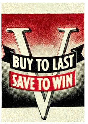 World War II Poster - Buy To Last Save To Win