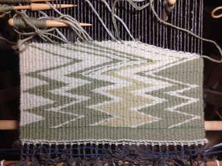 Green Wedge Weave | by Twill Power