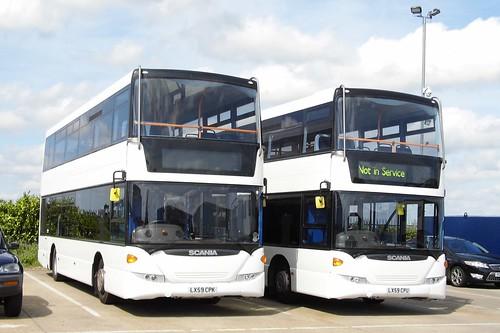 Coach Services, Thetford LX59 CPK/U