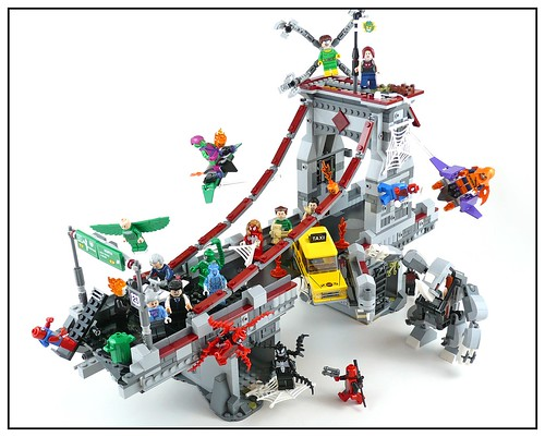76057 Spider-Man Web Warriors Real Ultimate Bridge Battle