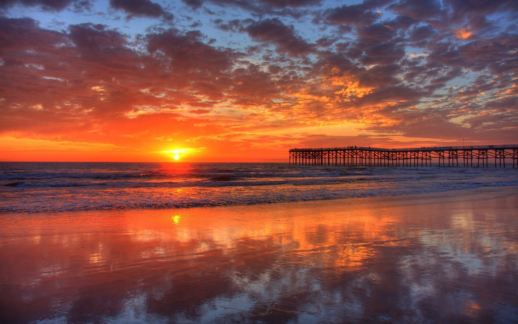 Beautiful Sunsets And Sunrises Wallpaper Free Download Flickr
