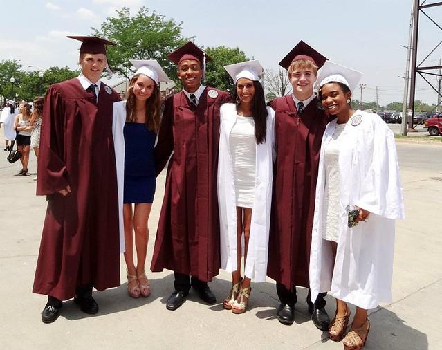 Lawrence Central High School 2012 graduation