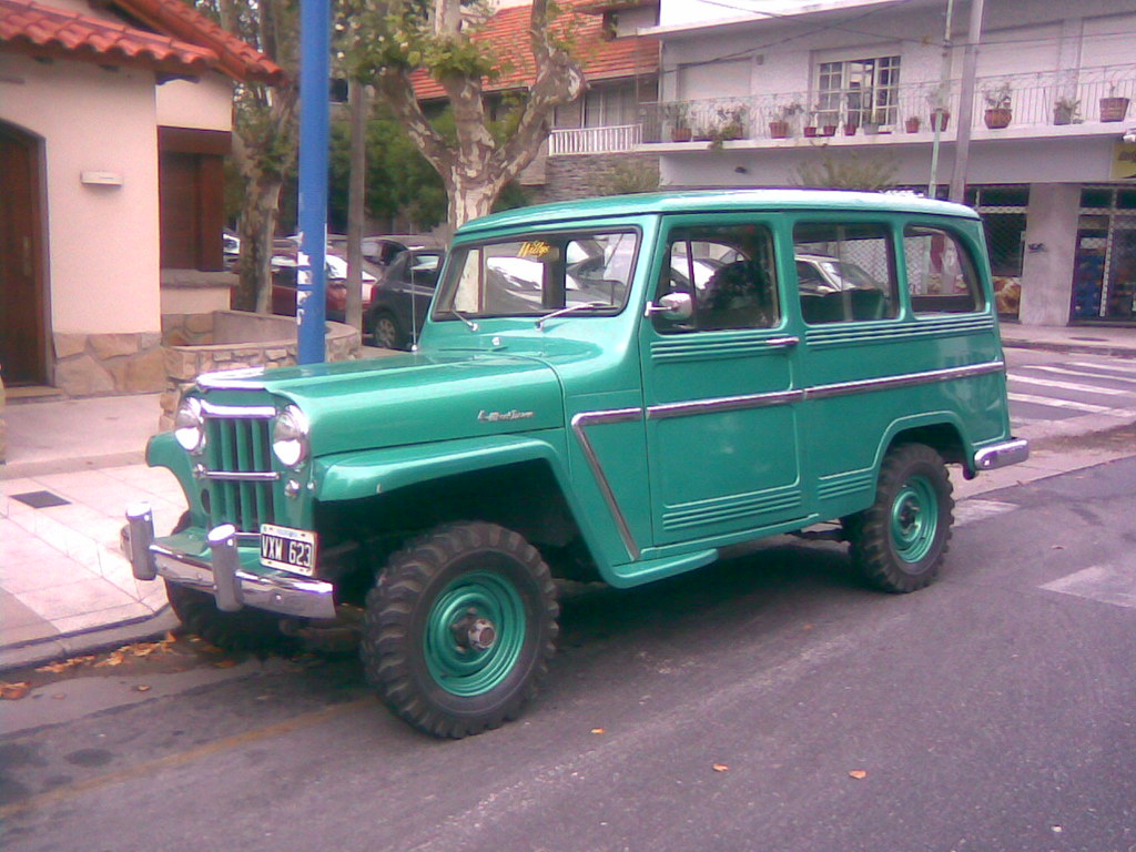 1941 Willys Jeep Station Wagon 4 Wheel Drive Carlos Vectra Flickr By