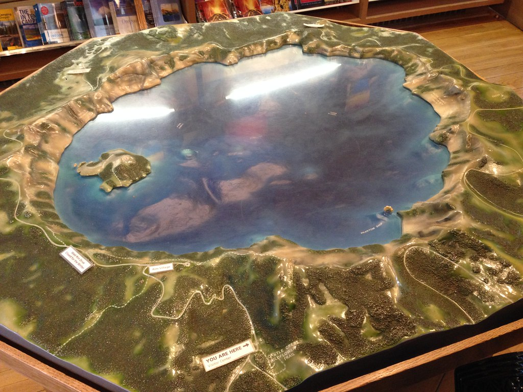 Model of the lake